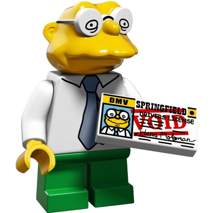 LEGO Collectible Minifigures: 71009 The Simpsons Series 2 Hans Moleman NEW