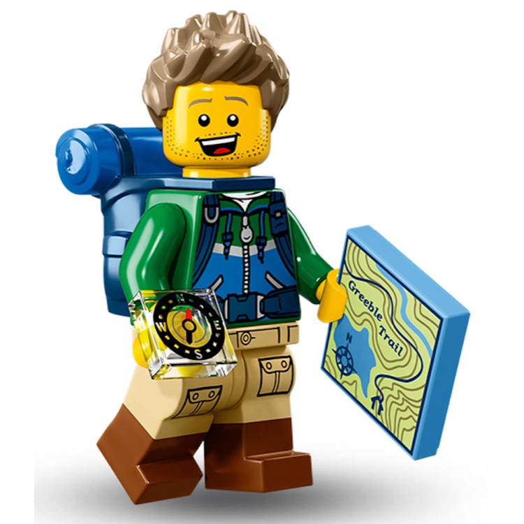 LEGO Collectible Minifigures: 71013 Series 16 Hiker NEW