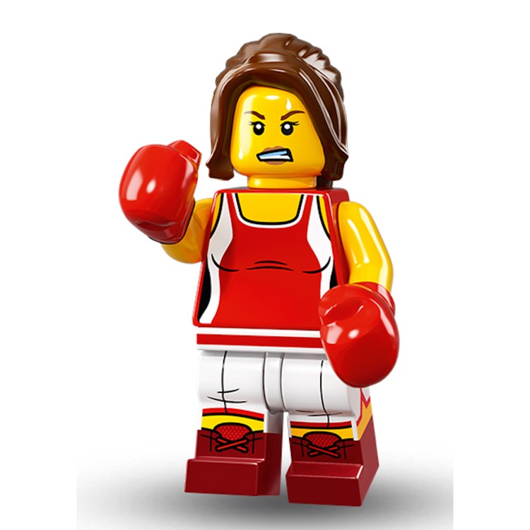 LEGO Collectible Minifigures: 71013 Series 16 Kickboxer NEW