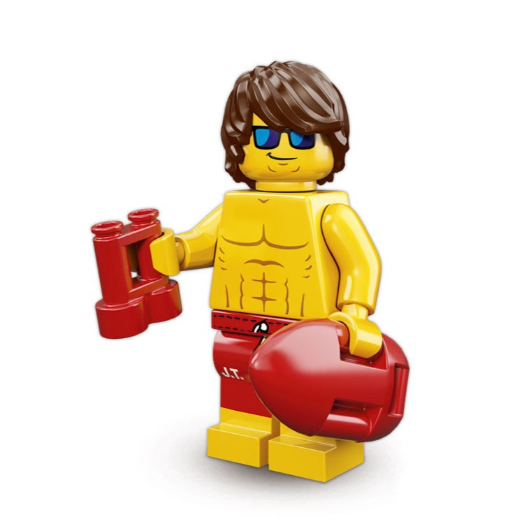 LEGO Collectible Minifigures: 71007 Series 12 Lifeguard Guy NEW