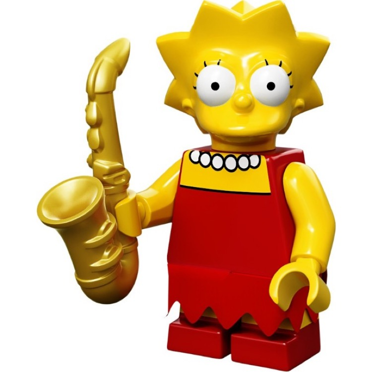 LEGO Collectible Minifigures: 71005 The Simpsons Series Lisa Simpson NEW
