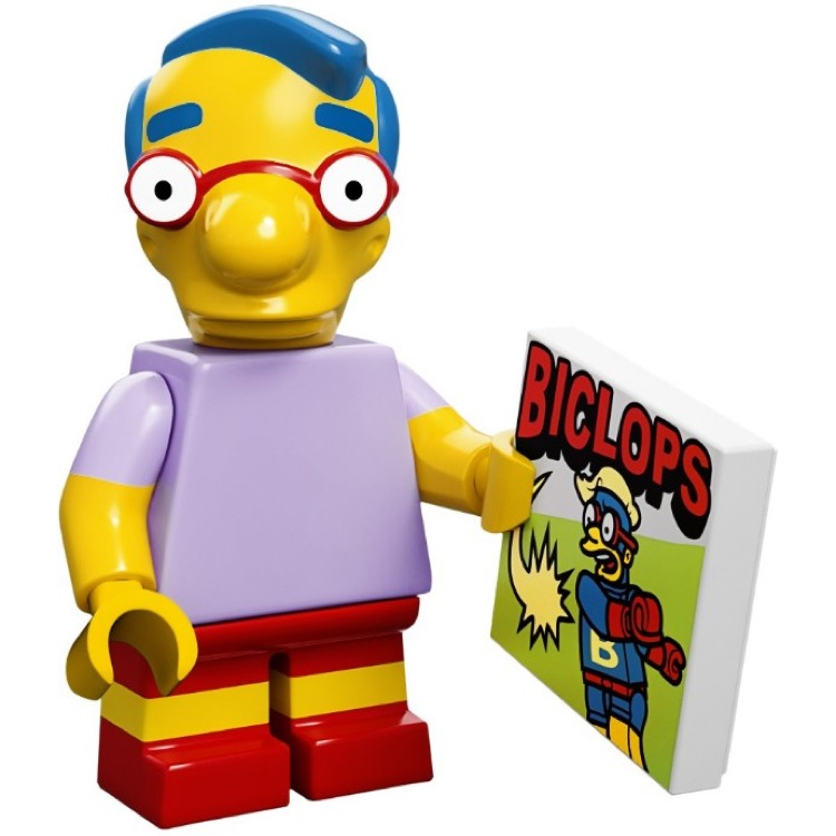 LEGO Collectible Minifigures: 71005 The Simpsons Series Milhouse Van Houten NEW