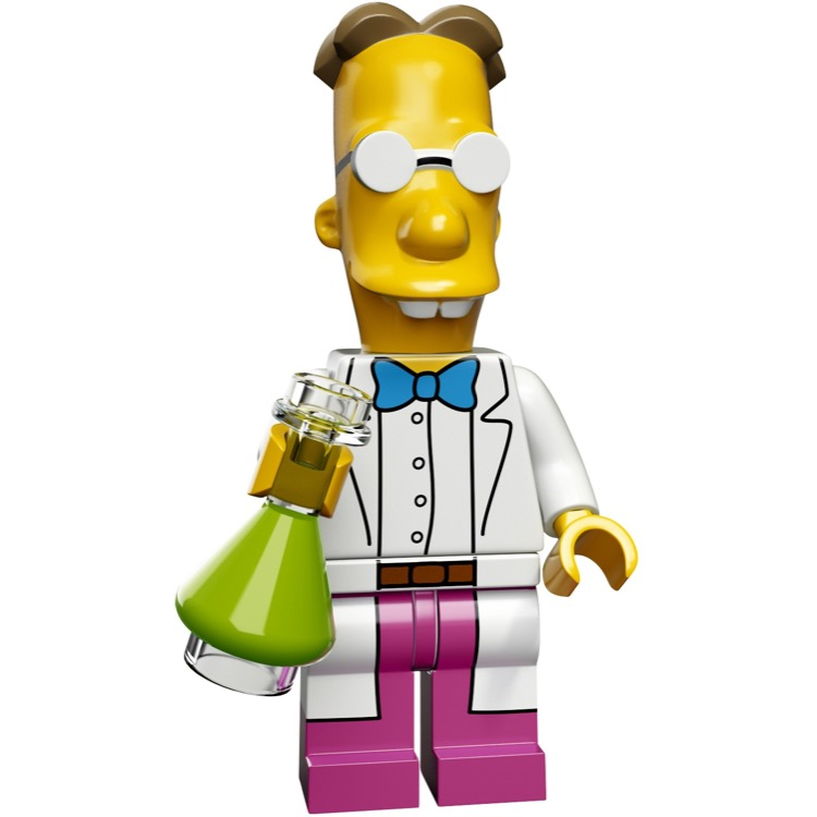 LEGO Collectible Minifigures: 71009 The Simpsons Series 2 Professor Frink NEW