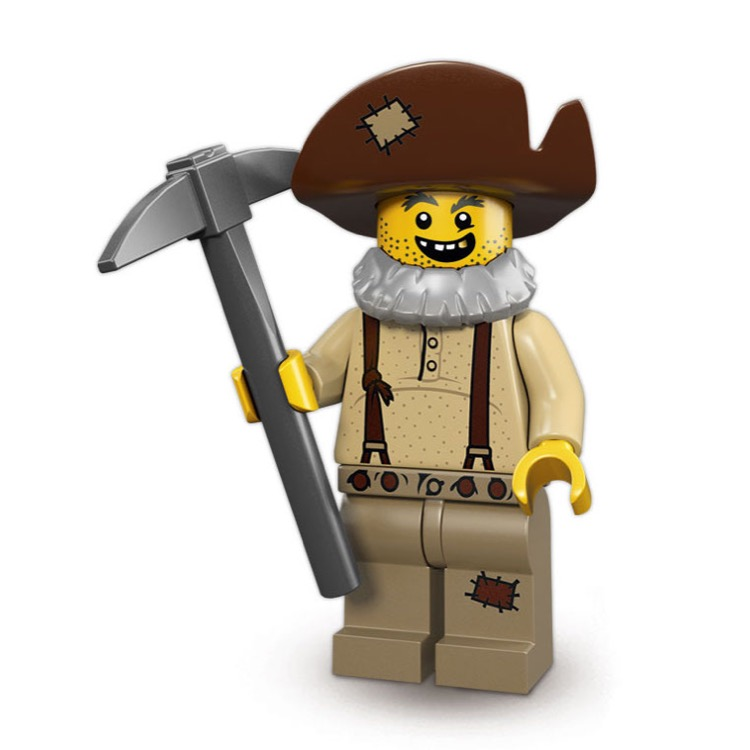 LEGO Collectible Minifigures: 71007 Series 12 Prospector NEW