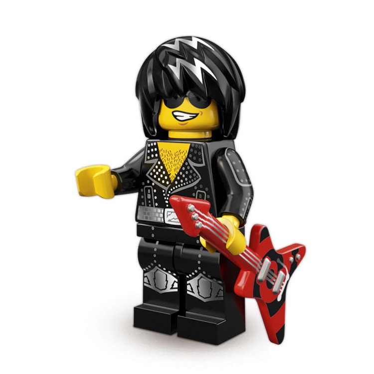 LEGO Collectible Minifigures: 71007 Series 12 Rock Star NEW