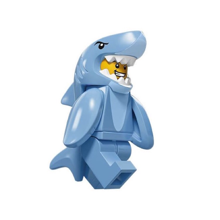 LEGO Collectible Minifigures: 71011 Series 15 Shark Suit Guy NEW