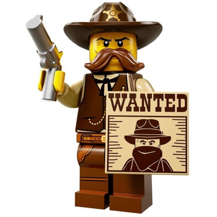 LEGO Collectible Minifigures: 71008 Series 13 Sheriff NEW