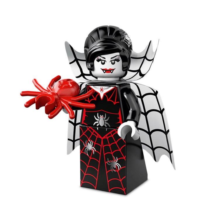 LEGO Collectible Minifigures: 71010 Series 14 Spider Lady NEW