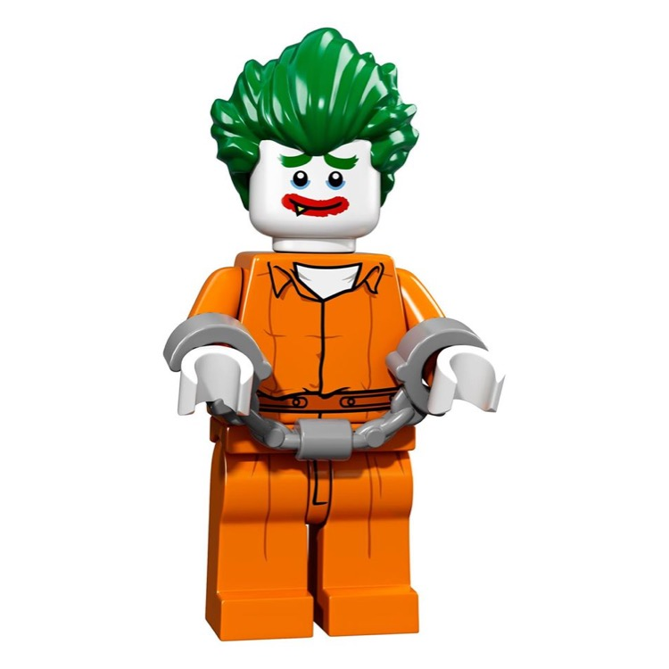 LEGO Collectible Minifigures: 71017 The LEGO Batman Movie Series The Joker - Arkham Asylum NEW