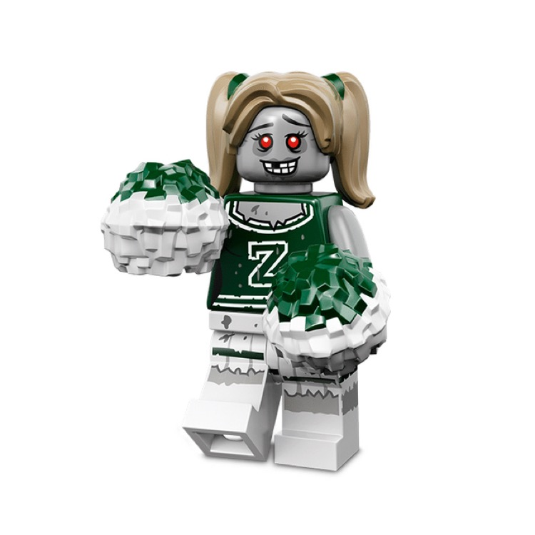 LEGO Collectible Minifigures: 71010 Series 14 Zombie Cheerleader NEW