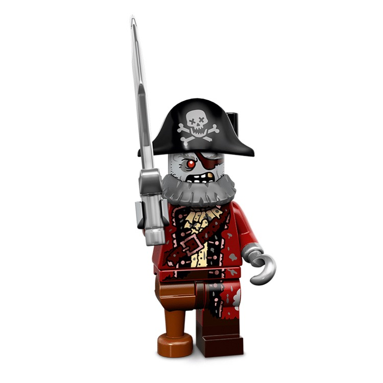LEGO Collectible Minifigures: 71010 Series 14 Zombie Pirate NEW