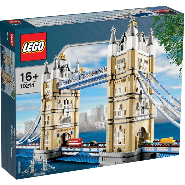 LEGO Exclusives Sets: Advanced Models 10214 Tower Bridge NEW *Damaged Box*