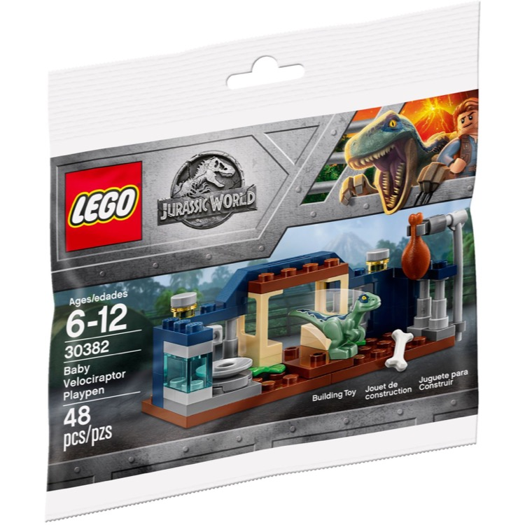 LEGO Jurassic World Sets: 30382 Baby Velociraptor Playpen NEW