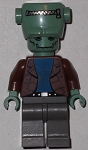 LEGO Minifigure: LEGO Studios / Monsters Frankenstein (HRF001) NEW