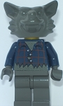 LEGO Minifigure: LEGO Studios / Monsters Werewolf (HRF006) NEW