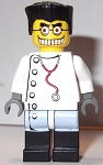 LEGO Minifigure: LEGO Studios / Monsters Mad Scientist (HRF004) NEW