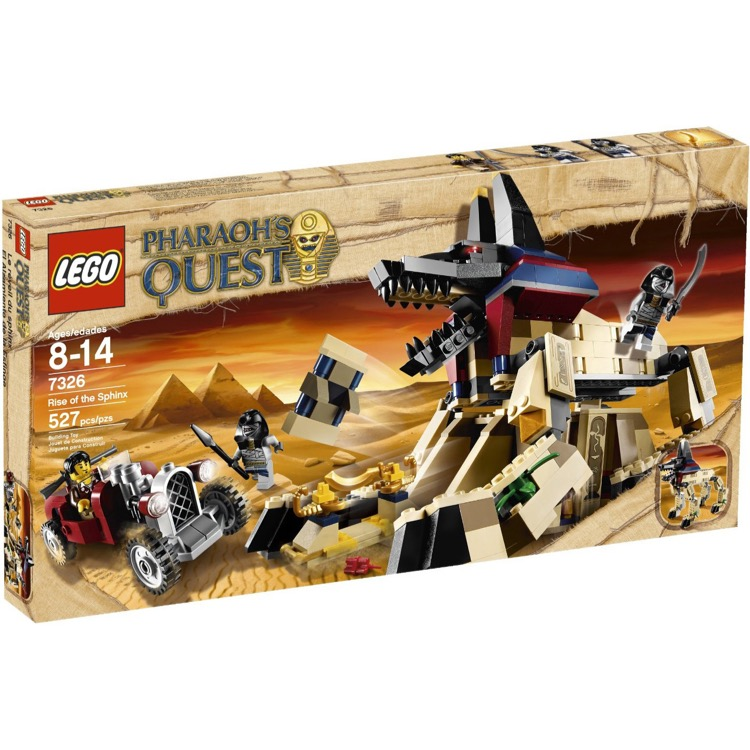 LEGO Pharaoh's Quest Sets: 7326 Rise of the Sphinx NEW