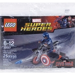 LEGO Super Heroes Sets: Marvel 30447 Captain America's Motorcycle NEW