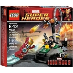 LEGO Super Heroes: Marvel Universe 76008 Iron Man vs. The Mandarin: Ultimate Showdown NEW *Damaged Box*