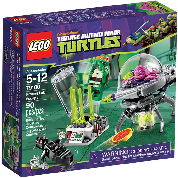 LEGO Teenage Mutant Ninja Turtle Sets: 79100 Kraang Lab Escape NEW