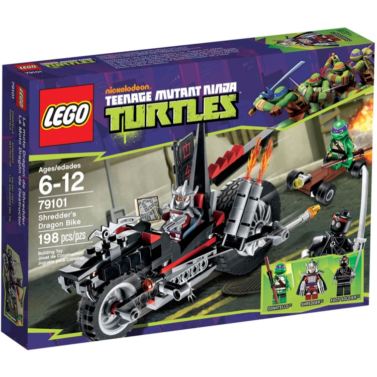 LEGO Teenage Mutant Ninja Turtles Sets: 79101 Shredder's Dragon Bike NEW