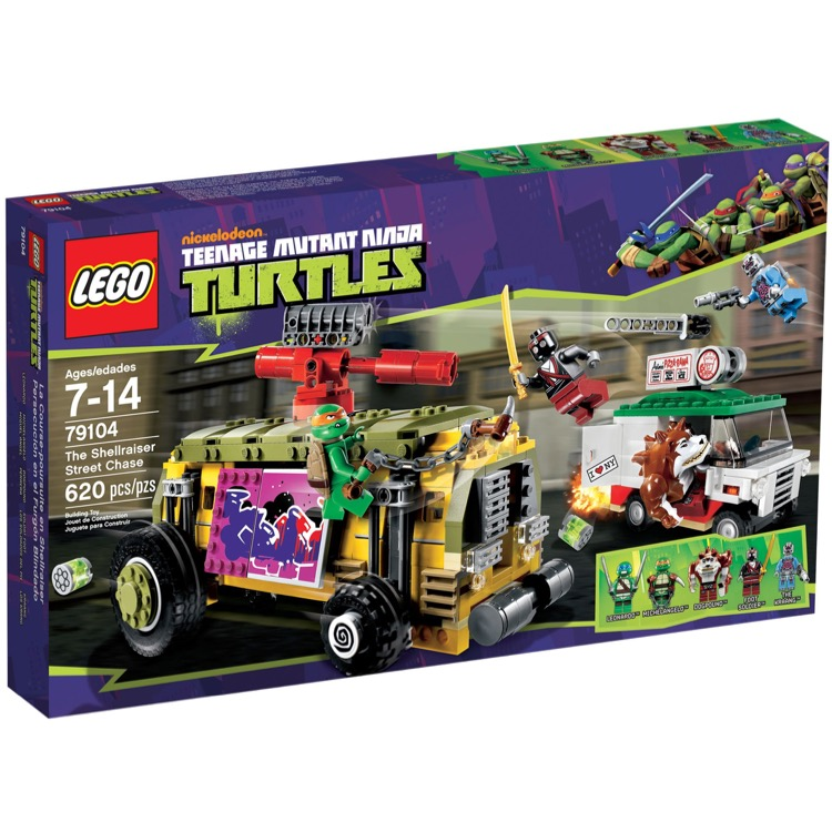LEGO Teenage Mutant Ninja Turtles Sets: 79104 The Shellraiser Street Chase NEW