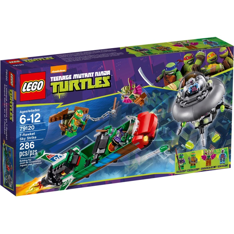 LEGO Teenage Mutant Ninja Turtles Sets: 79120 T-Rawket Sky Strike NEW