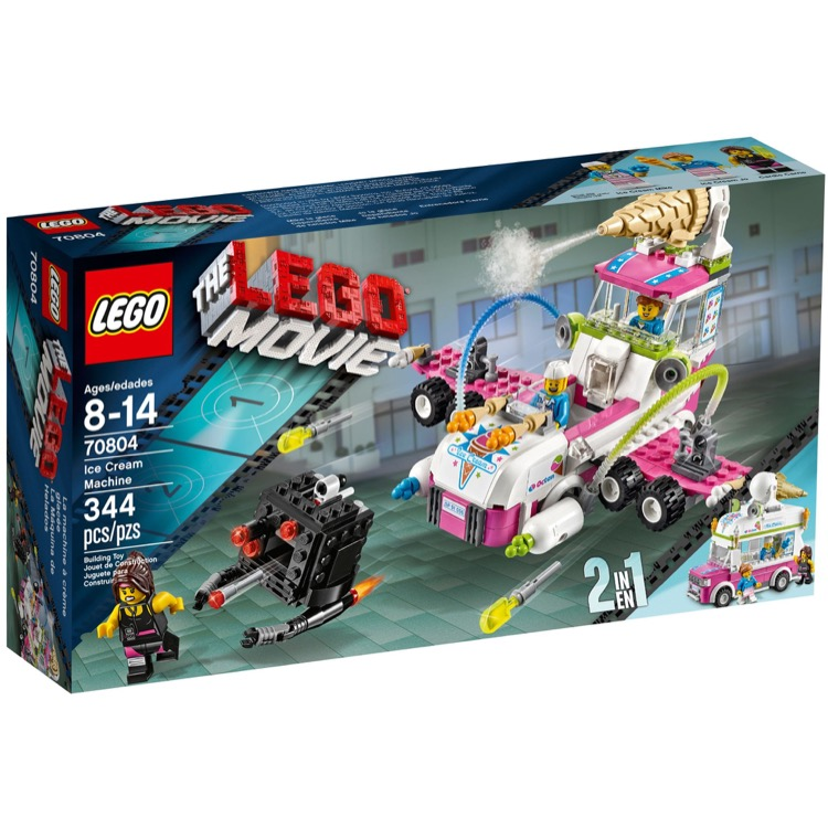 The LEGO Movie Sets: 70804 Ice Cream Machine NEW