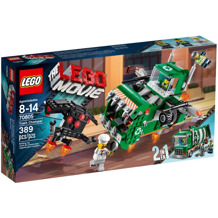 The LEGO Movie Sets: 70805 Trash Chomper NEW