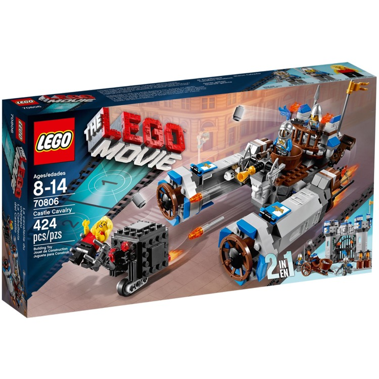 The LEGO Movie Sets: 70806 Castle Cavalry NEW