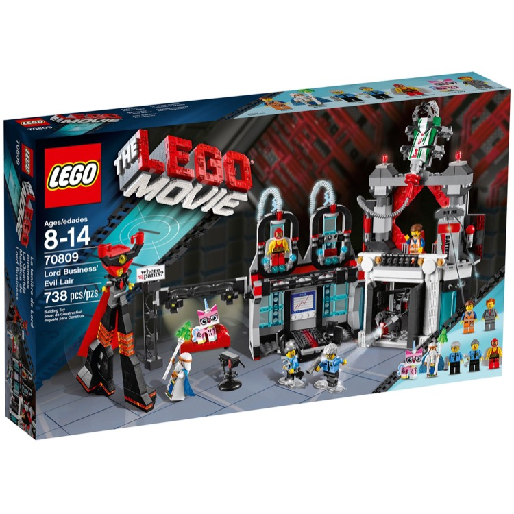 The LEGO Movie Sets: 70809 Lord Business' Evil Lair NEW