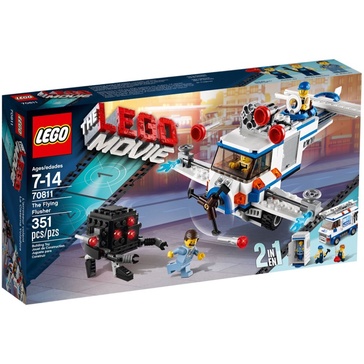 The LEGO Movie Sets: 70811 The Flying Flusher NEW