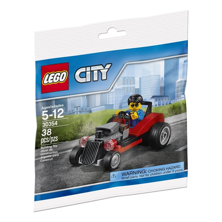 LEGO Town Sets: City 30354 Hot Rod NEW