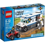 LEGO Town Sets: City 60043 Prisoner Transporter NEW *Damaged Box*