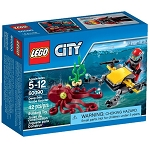 LEGO Town Sets: City 60090 Deep Sea Scuba Scooter NEW *Damaged Box*