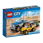 LEGO Town Sets: City Great Vehicles 60082 Dune Buggy Trailer NEW *Damaged Box*