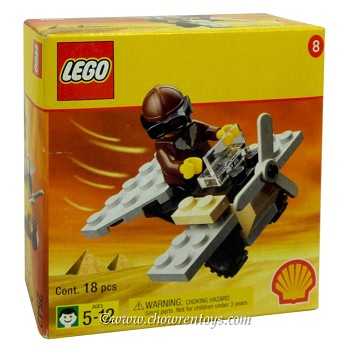 LEGO Adventurers Sets: Egypt SHELL Promotional 2542 Mini Plane NEW