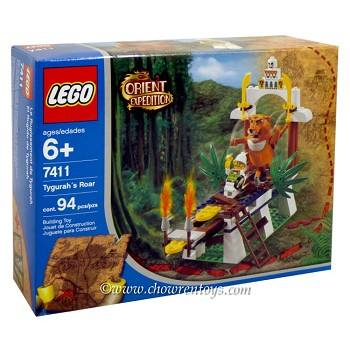 LEGO Adventurers Sets: Orient Expedition India 7411 Tygurah's Roar NEW