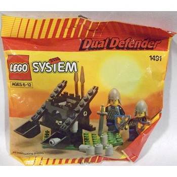 LEGO Castle Sets: Crusaders 1491 Dual Defender NEW