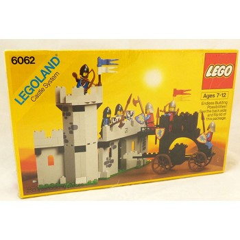 LEGO Castle Sets: Black Knights 6062 Battering Ram NEW *Sticker Damage/Failed Seal* @R