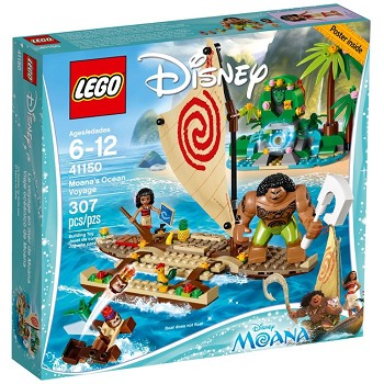 LEGO Disney Princess Sets: 41150 Moana's Ocean Voyage NEW