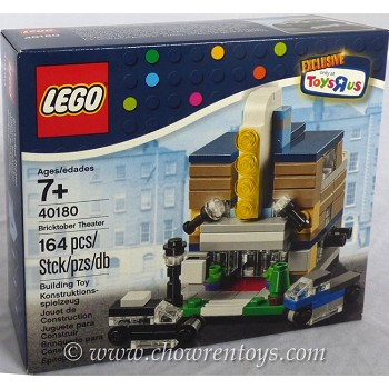 "LEGO Exclusives Sets: 40180 Toys""R""Us Promotional Bricktober Theater NEW"