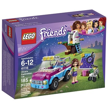 LEGO Friends Sets: 41116 Olivia's Exploration Car NEW *Damaged Box*