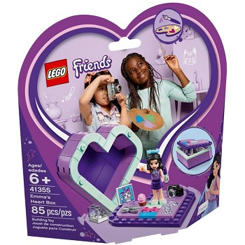 LEGO Friends Sets: 41355 Emma's Heart Box NEW