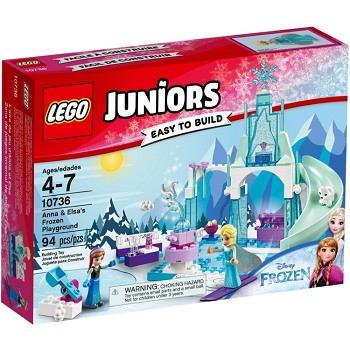 LEGO Juniors Sets: 10736 Anna and Elsa's Frozen Playground NEW *Damaged Box*