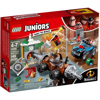 LEGO Juniors Sets: 10760 Underminer's Bank Heist NEW