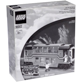 LEGO Legends Sets: 10002 Metroliner Railroad Club Car NEW