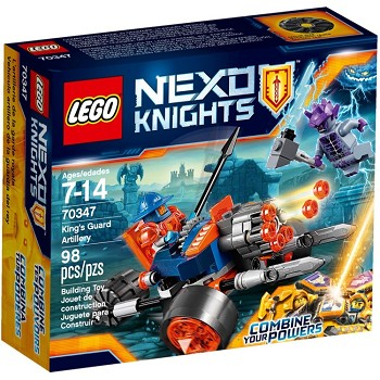 LEGO Nexo Knights Sets: 70347 King's Guard Artillery NEW