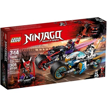 LEGO Ninjago Sets: 70639 Street Race of Snake Jaguar NEW