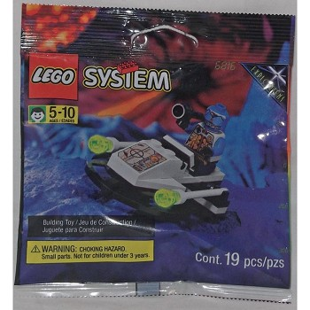 LEGO Space Sets: UFO 6816 Cyber Blaster NEW